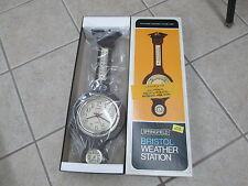 NIB Springfield Bristol Weather Station Therm Barometer Humidity Meter 885-13