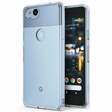 Google Pixel 2 Case Slim Crystal Clear Bumper Cover Anti Shock Screen Protector