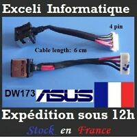 Connecteur alimentation dc power jack socket cable wire ASUS x50IJ