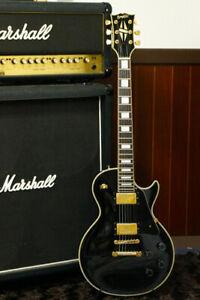 Rare 1990 made Orville Les Paul Custom LPC-75 Black Finish Terada Made in Japan
