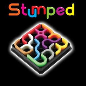 Stumped Puzzle Brain Teaser Mind Bending 24 Challenges Fun Stocking Filler Gift