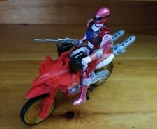 Power Rangers Operation Overdrive Red Zordtek Cycle & Ranger Action Figure 2007