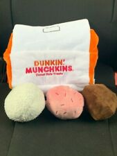 New listing Bark Dunkin Donuts Donut Hole (Munchkins) Dog Toy. *Limited Edition*