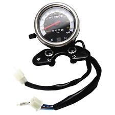 Universal Motorcycle Dual Odometer Speedometer Speedo Meter Digital Display