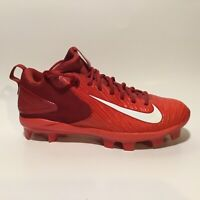 Nike Trout Red Cleats Size 9
