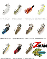 Z-MAN Chatterbait ELITE Bladed Vibrating Swim Jig 1/2oz (CB-EL12) Any Color 11