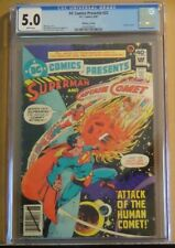 DC COMICS PRESENTS #22 WHITMAN CGC 5.0, white pages, extremely scarce, rare