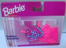 1996 NEW~BARBIE FASHION FAVORITES~HOT PINK SHORTS+TOP~2 PC SET~68000-94~MOC~NRFP