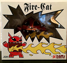 """JOE LEDBETTER JLED 6"""" FIRECAT FIRE CAT RED WHEATY WHEAT 2005 DESIGNER TOY LE 400"""