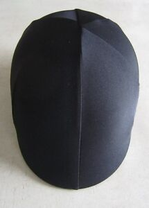 Horse Helmet Cover ALL AUSTRALIAN MADE All black lycra.  Any size you need