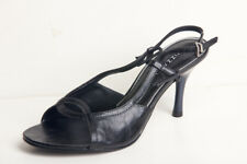 Vizzano Women's Black Slingback Open Toe High Heel 369-107