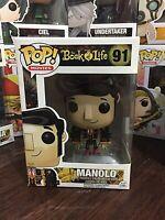 Funko Pop! MOVIES. THE BOOK OF LIFE, MANOLO POP VINYL FIGURE. #91 VAULTED