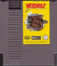 WEREWOLF THE LAST WARRIOR ORIGINAL RARE NINTENDO GAME SYSTEM NES HQ