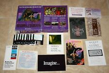 """Sierra 1993 Quest For Glory SHADOWS OF DARKNESS DOS PC Game 3.5"""" Discs COMPLETE"""