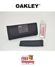 OAKLEY® SUNGLASSES COMPLETE CLEANING KIT SOLUTION CLOTH STORAGE BAG NEW