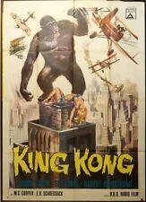 KING KONG 1933 M.C. Cooper, E. B. Schoedsack RARO MANIFESTO ED. 1966! POSTER