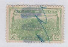 Dominica Telegraph stamp revenue fiscal 2-10