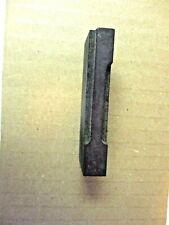 """Wood Carved Newspaper Number 1 Block Print Printing Press Typeset 2-1/2"""" Antique"""