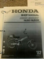 1982 honda nu50 urban express Service & Repair Manual 1982 1983 1984  in binder