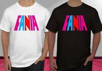 Fania Records Music Logo Men T-Shirt Size S-2XL