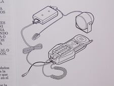 Qualcomm Hands-Free Car Kit For Mobil Phones QCP-860 and QCP-1960 (TXCKT031-1)