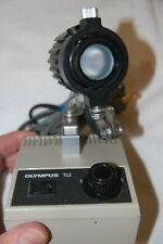 Reduced Olympus Microscope Illuminator Model Tl2 Working Articulating 6 Setting