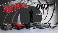 Hot Wheels James Bond Diecast Cars
