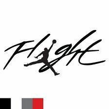 Flight Jordan Jumpman Logo Huge 23 AIR Decal Sticker Car Window Tablet PC Laptop