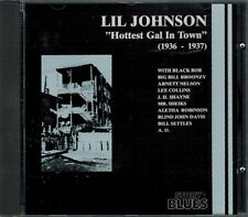 Lil Johnson Hottest Gal In Town 1936-1937 Blues