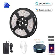 Xenon Waterproof 5m RGB LED Strip Light 5050 SMD Wifi Controller by Phone FR