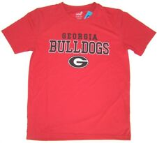 9fa2aed822e1 Georgia Bulldogs NCAA Football Short Sleeve T-Shirt NWT Size Medium 10/12  Red