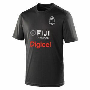 FIJI rugby performance t-shirt [black]