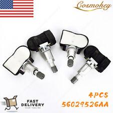 4Pcs TPMS Tire Pressure Sensor For Chrysler Dodge Jeep 56029526AA 315MHz OEM US