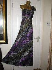 10 TALL SARA BERNSHAW MAXI DRESS STRETCH QUALITY WEDDING PARTY COST £350