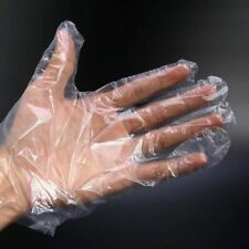 100Pcs/Pack Disposable Gloves Plastic Catering Food Home Restaurant Cleaning