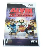 Alvin and the Chipmunks Game (Nintendo Wii) Used Tested Works