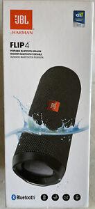 JBL Flip 4 Portable Waterproof Wireless Speaker, Black