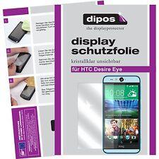 6x dipos HTC Desire Eye klare Displayschutzfolie Crystalclear unsichtbar