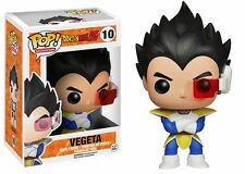 "DRAGONBALL Z VEGETA 3.75"" POP VINYL FIGURA FUNKO 10 UK VENDEDOR"