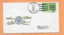 U.S.S. AEOLUS SEP 12,1955  PREXY  NAVAL COVER