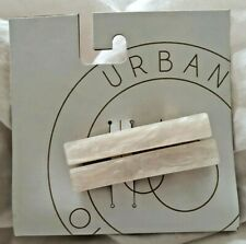 Urban Outfitters Amelie Enamel Hair Clip Ivory Bridal set of 2 BNWT RRP £8