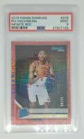 2019-20 Donruss Rui Hachimura #208 Rated Rookie Infinite Red 69/99 RC PSA 9 SSP