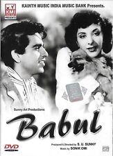 BABUL - DILIP KUMAR, NARGIS - BRAND NEW KMI BOLLYWOOD DVD - MULTI SUBTITLES