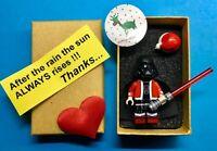 Christmas TOP DARTH VADER   STAR  WARS  minifigure lego movie + BOX