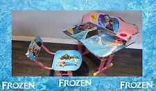 Kids Children Home Study FROZEN ELSA ANNA Table Storage Cartoon Desk Stool Set