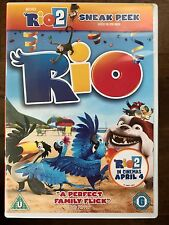 RIO ~ 2011 Bluesky Animated Brazilian Parrot Maccaw Family Comedy | UK DVD