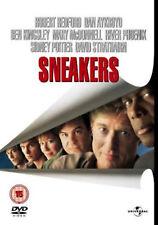SNEAKERS DVD Robert Redford Dan Aykroyd Phil Alden Robinson New Sealed UK R2