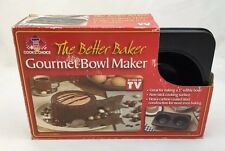 "Cooks Choice The Better Baker Gourmet Maker 5"" Edible Bowl Cake Pan Idea Book"