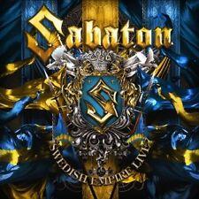SABATON - SWEDISH EMPIRE LIVE  CD DIGIPACK 14 TRACKS NEUF++++++++++++