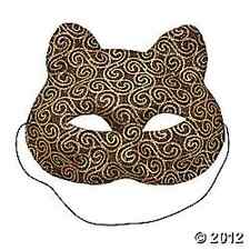 Mardi Gras Cat Mask Decoration Attire